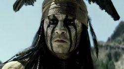Johnny Depp joue à l'indien