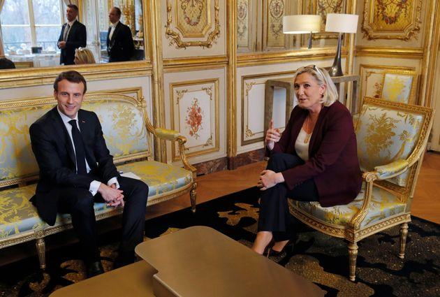 Η Λε Πεν πρώτη ο Μακρόν δεύτερος στις δημοσκοπήσεις για τις ευρωεκλογές στη