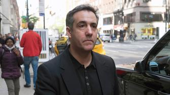 Michael Cohen, President Donald Trump's former personal attorney, walks down Madison Avenue Saturday, May 4, 2019, in New York. Cohen is scheduled to report to a federal prison on Monday, May 6, to begin serving a three-year sentence for campaign-finance violations, tax evasion, bank fraud, and lying to Congress. (AP Photo/Jonathan Carroll)