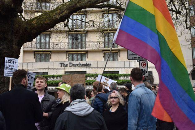 Διαμαρτυρίες στο Λονδίνο...