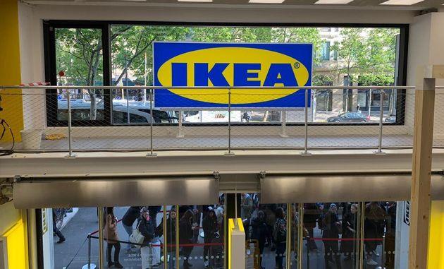 Ce lundi 6 mai, le géant suédois du meuble a ouvert sa première enseigne de centre-ville...