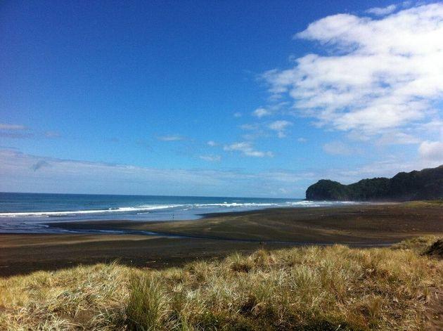 ニュージーランドのゴミ1つないビーチ