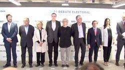 EN DIRECTO: El primer debate entre los candidatos al Ayuntamiento de