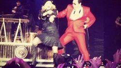 Madonna et Psy en «Gangnam Style»