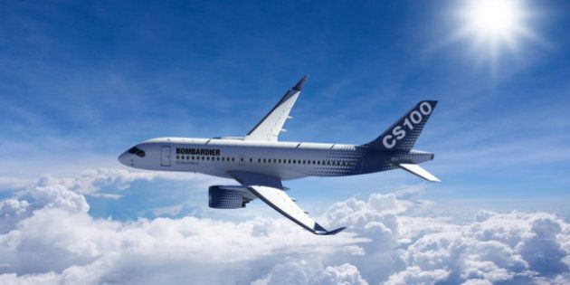 Bombardier annonce une hausse de son résultat net et le report du vol du CS100