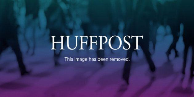 Cast members Kirsten Dunst, left, Garrett Hedlund and Kristen Stewart are shown before the premiere