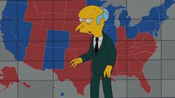 A qui ira le vote de Mr Burns?