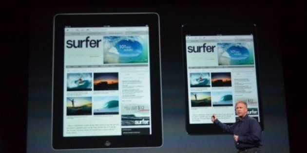 L'iPad mini mis en vente dans 34