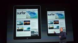 L'iPad mini n'attire pas les