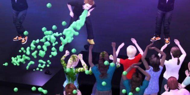 La chaîne taïwanaise NMA TV revisite la scène de Justin Bieber qui vomit sur scène