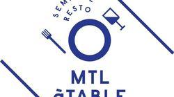 MTL à TABLE: une nouvelle fête de la gastronomie à