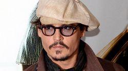 Johnny Depp au TIFF pour soutenir «West of