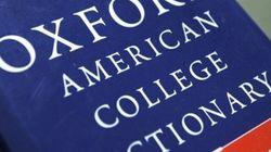 Selon Oxford, le mot de l'année 2012