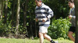 Nicolas Sarkozy en vacances au chalet de