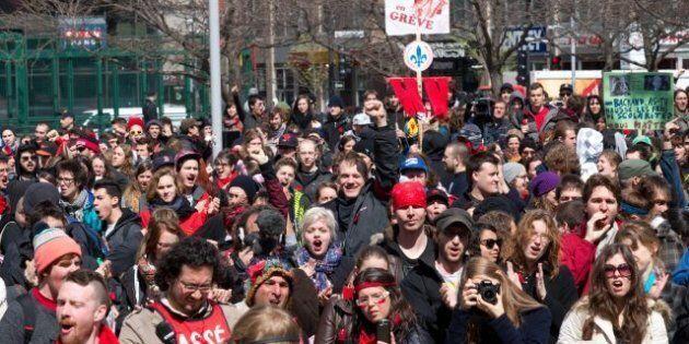 Crise étudiante: la facture dépasse le cap des 40 millions $, confirme Duchesne