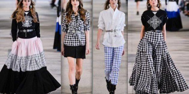 Semaine de la Mode de Paris: un dandy fantasque et des jupons (jour
