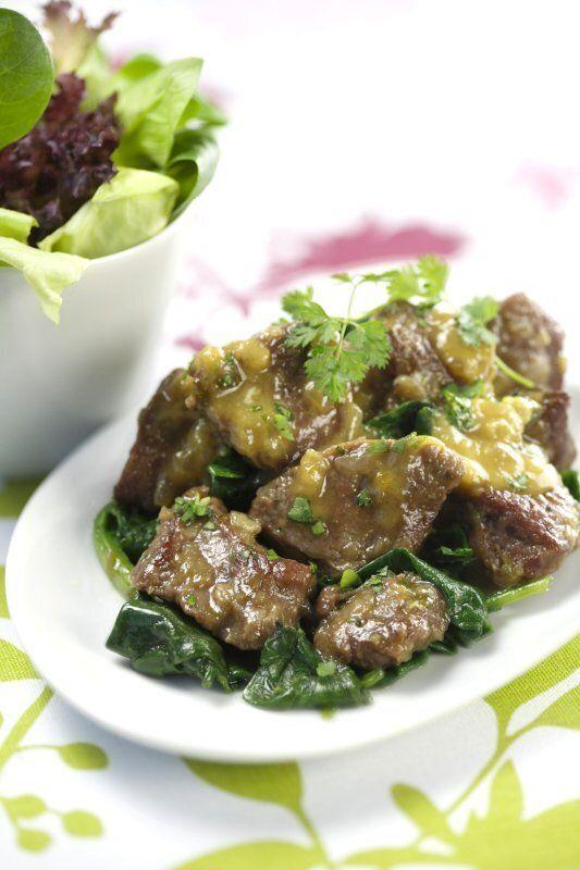 La recette du week-end: Fricassée d'agneau à