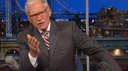 Letterman ne veut pas que l'on vote pour Romney, à moins qu'il ne participe à son émission