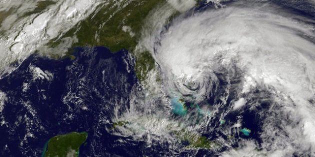 Ouragan Sandy: de la pluie et de forts vents attendus au Canada dès lundi