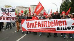 Manifestations en Allemagne pour une hausse