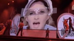 Marine Le Pen VS Madonna: Croix gammée au front, ça ne passe pas!