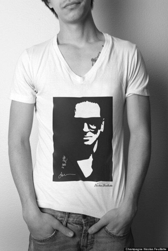 Denis Gagnon dessine un T-shirt pour supporter les designers émergents du