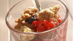 La recette du week-end: crumble aux fruits