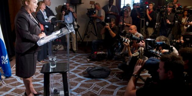 Pauline Marois promet d'annuler la hausse des droits de