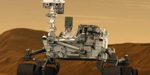 Mars: le robot Curiosity a trouvé les traces d'un ancien