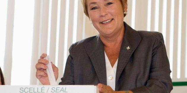 Pauline Marois devient la première femme au poste de première ministre du Québec