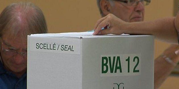 Une électrice décédée vote par anticipation dans