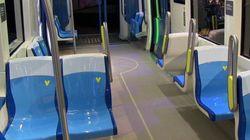 Les futures voitures du métro de