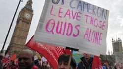 Grande manifestation à Londres contre