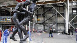 Le coup de tête de Zidane immortalisé