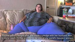 Elle perd du poids grâce au