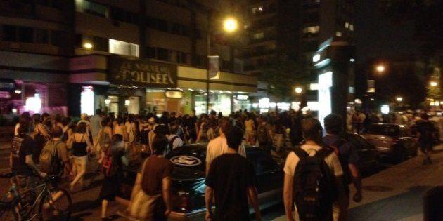 Une 49e manifestation nocturne dans le calme à Montréal