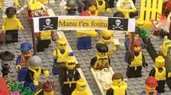 Les gilets jaunes protestaient aussi dans cette expo