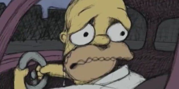 Les Simpson: le dernier générique imaginé par le dessinateur Bill Plympton