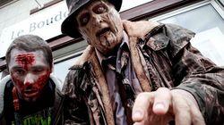 Les zombies sont en