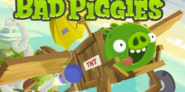 Bad Piggies domine le palmarès des applications payantes pour iPhone et