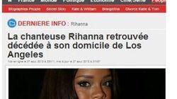 Naissance d'une rumeur: non, Rihanna n'est pas