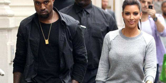 Kim Kardashian, Kanye West et bien d'autres couples de stars au look qui se ressemble