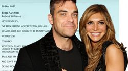 Robbie Williams papa et... félicité sur