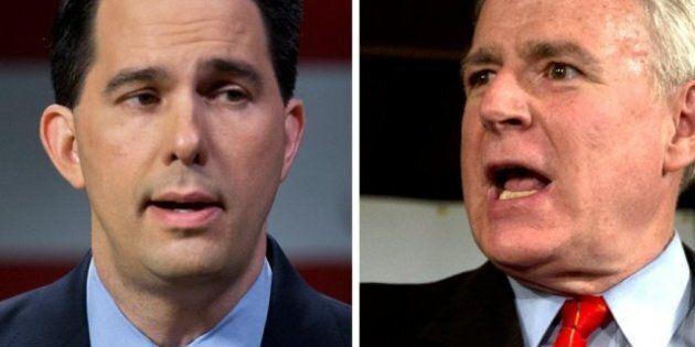 USA: le Wisconsin décide du sort de son gouverneur, adversaire des