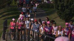 Une marche rose pour vaincre les cancers
