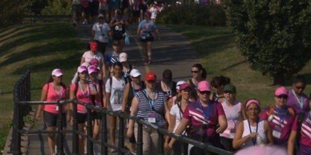Huitième marche à Montréal pour vaincre les cancers