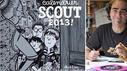 Michel Rabagliati illustre le calendrier scout