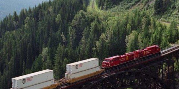 Le Canadien Pacifique lance un service ferroviaire intermodal plus