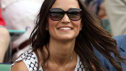 Pippa Middleton en beauté à Wimbledon