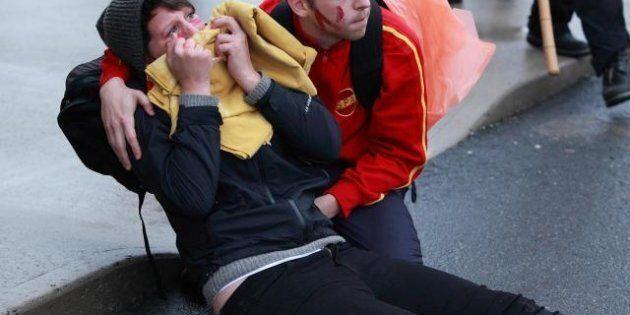 Émeutes de Victoriaville: la SQ fait le